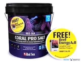 Red Sea Coral PRO +  Reef Energy A+B ZDARMA (22kg / 2x 100ml)