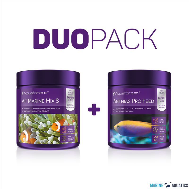 AF Marine Mix S/ Anthias Pro Feed DUO PACK