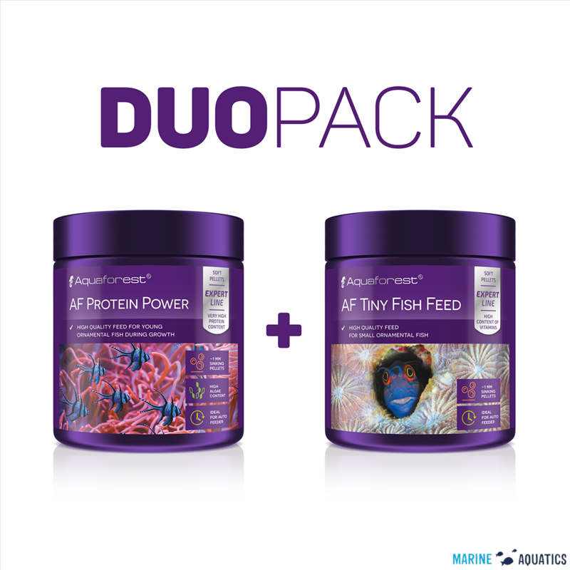 AF Protein power/ Tiny Fish DUO PACK