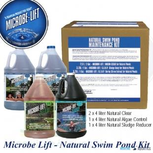 Microbe-Lift Natural set (4x4 L)