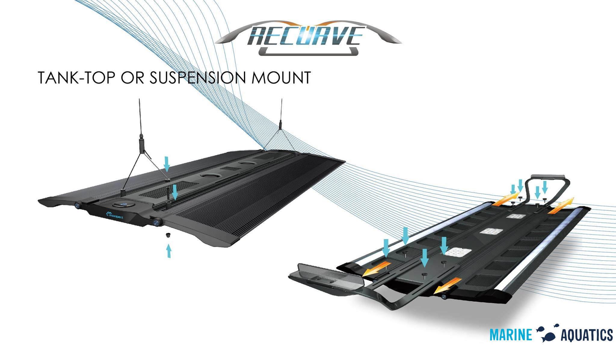 Maxspect Recurve hanging kit