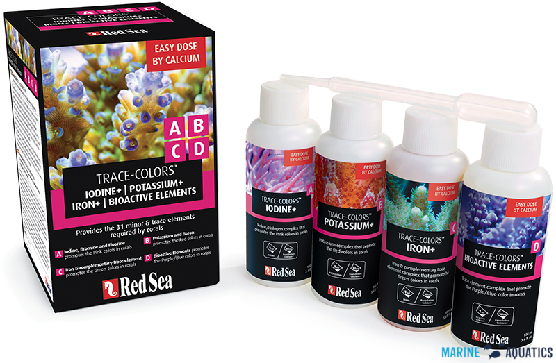 Red Sea SET - Coral Colors A+B+C+D (4 x 100ml)
