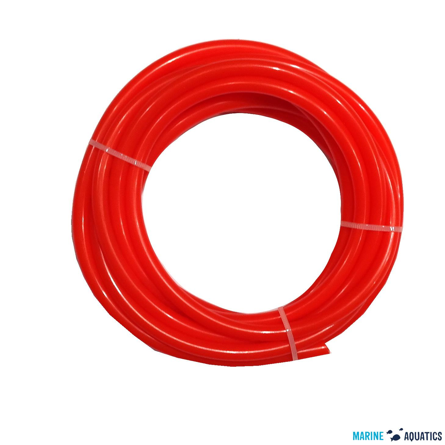 LLPDE tube/Red 1/4OD / 3m