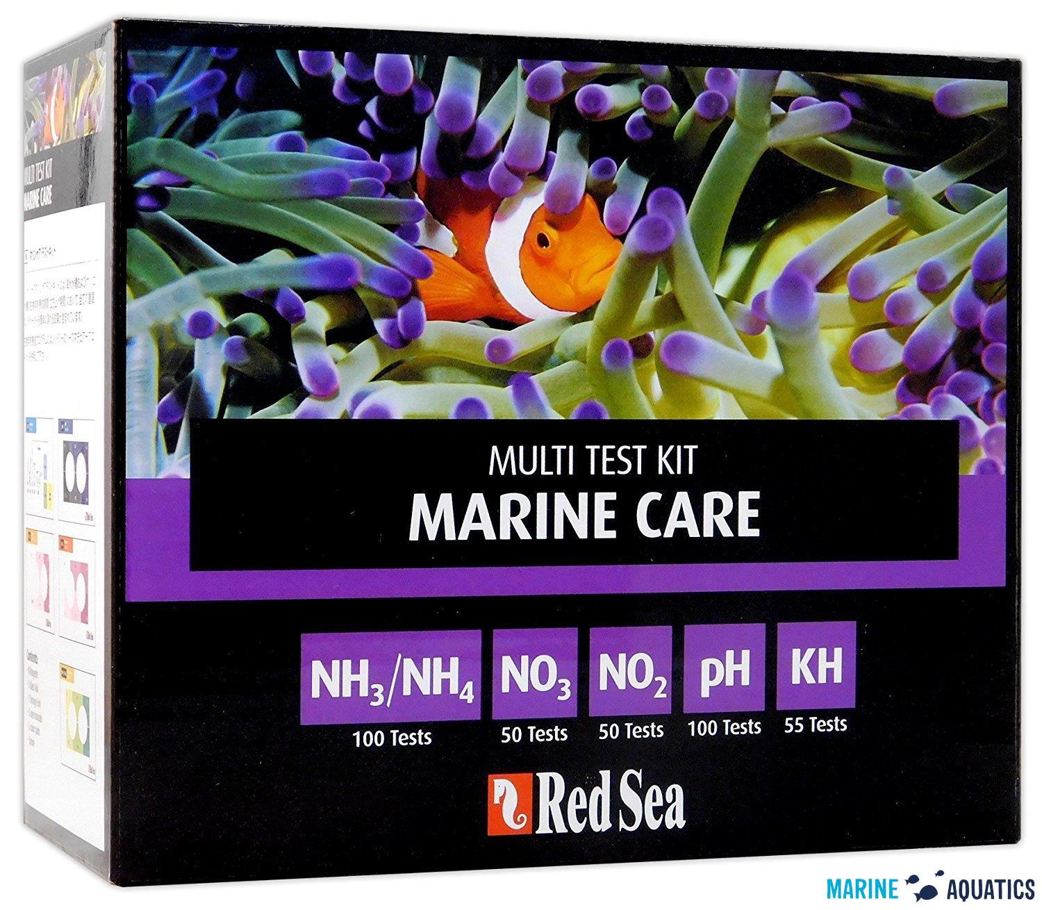 Red Sea Marine Care Multi Test kit - sada testů na čpavek, dusičnany a pH/KH